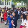 С музика и танци в Първия учебен ден